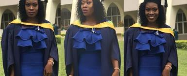 Actress, Khadijah Ayoade Bags Master's Degree from the University of Ibadan