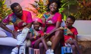 Okyeame Kwame Shares Adorable Snapshot with Family