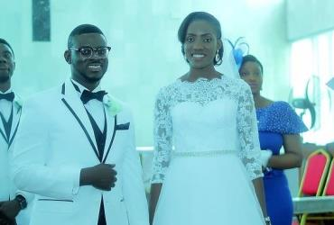 Gospel filmmaker, Mike Bamiloye's Son Weds Long-time Lover