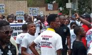 March For War And Economic Crime Court In Liberia