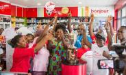 Former 'Black Queens' Players Lead 2018 TOTAL AWCON Trophy Tour In Accra
