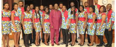 Tema Youth Choir On Tour In The U.S.