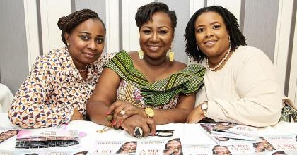Akosua Konceptz, Rytta Benneh Host Oheneyere Gifty Anti In UK
