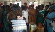 Volta NDC Women's Wing Made Donations At Two Hospitals In Ho
