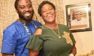 Actress, Mercy Johnson in Romantic Mood with Hubby