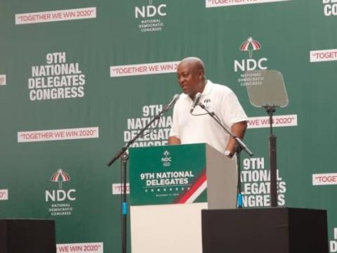 Mahama Shouldn't Have Addressed Congress - NDC Stalwart