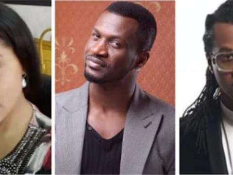 P-Square: Paul, Jude Okoye Attack Peter's Wife, Lola