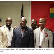Ambassador Agyei-Barwuah Attends Harford County Of Maryland Town Hall Meetin