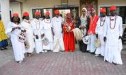 Beauty queen takes evangelism to royal palace in Delta