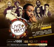 Ric Hassani, Aramide, Tjan, Johnny Drille To Perform At Live & Wavy