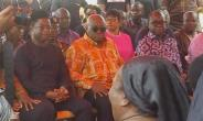 President Akufo-Addo Visits Late Agyarko's Family