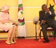 Akufo-Addo Hosts Danish Queen In Accra