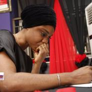 Becca Mourns KABA As She Signs Book Of Condolence