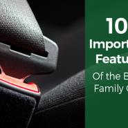 10 Important Features Of The Best Family Cars