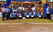 Staff of GGL  Chiefs and beneficiaries.