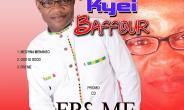 Pastor Kyei Baffour drops 3 copies out of his 8 track-album
