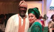 Actress, Biodun Okeowo Uses Killer Curves to Hold Down Senator Dino Melaye at Event
