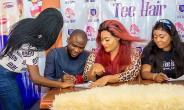 Actress, Nkechi Sunday Signs New Endorsement Deal with Beauty Company