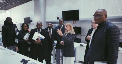 Cooperation Among Peers: Ghanaian Delegation Visits Spain