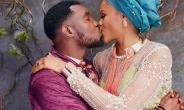 Timi Dakolo Seen Kissing his Wife, Nicely Dressed