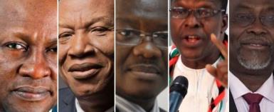 NDC Presidential Aspirants