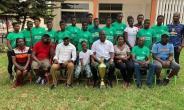 Francis Asenso-Boakye Hosts Kumasi Girls Basketball Team