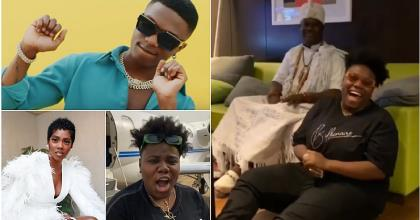 Leave Wizkid Alone - Teni Gets Serious Warning From Ooni Of Ife
