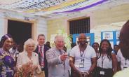 Yaw Ampofo Ankrah With Prince Charles