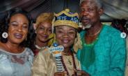 How veteran Actress, Joke Muyiwa was Honoured in Ogun State
