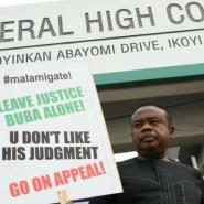 COSON Chairman, Tony Okoroji embarks on One Man Protest