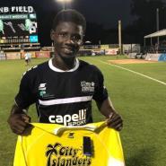 Former Inter Allies Striker Ropapa Mensah Joins USL Side Nashville SC