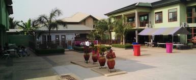 Inside view of Samritans Valley Hotel