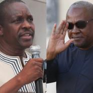John Mahama And Alban Bagbin