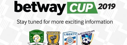 Draw Finalized Ahead OfBetway Cup In Obuasi This Weekend