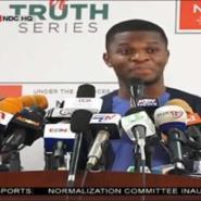 NDC Communications Director, Sammy Gyamfi addressed the press conference