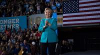 Hillary Clinton's campaign in Cleveland, Nov 6, 2016