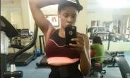 Actress, Uche Ogbodo Hits the Gym to Burn Festive Calories