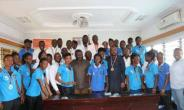 National Hockey Teams Present Medals To MOYS
