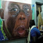 Celebrated Ghanaian Artist Kwesi Botchway In Denmark To Exhibit His Painting