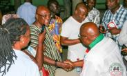 Mr Abodakpi interacting with some of the cadres