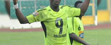 Former Bechem United Striker Abednego Tetteh