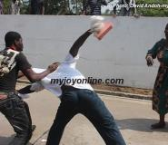 Two 'Mugus' Fight Over Woman On Court Premises