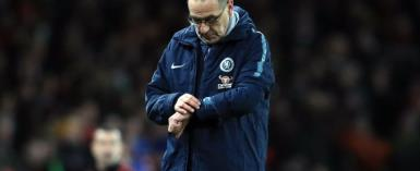 Maurizio Sarri Says Chelsea Are 'Very Difficult To Motivate' After Arsenal Defeat