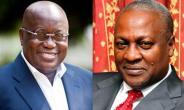 President-elect Nana Addo Dankwa AKufo-Addo and President John Dramani Mahama
