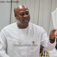 Mahama's Sponsors 'Barred' By NDC
