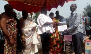 A 44 year old Thompson Kofi Takyi, a farmer from Nnbomesumbuo in the Dormaa East District was on Friday, December 07, 2018 adjudged the overall best farmer of the district among 11 others at the 9th District Farmers Day Celebration which took place at Akontanim.
