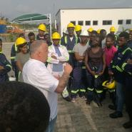 Rigworld Training Centre Hosts KNUST Petroleum Engineering Students