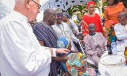Father Campbell and Dr Mahamudu Bawumia