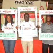 Lynda Arthur (Left) And Other Executive Of PPAG-YAM At The Event