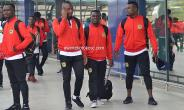 CAF CC: Asante Kotoko Depart For Kariobangi Sharks Clash [PHOTOS]
